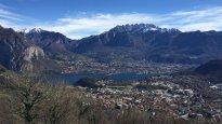 3 -Veduta panoramica di Lecco e del lago dalla Piana di San Tomaso