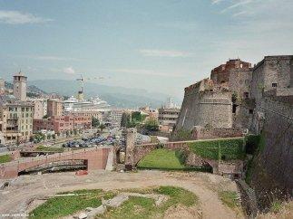 21 -Savona._panorama con sulla destra la fortezza Priamar