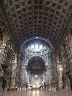 10 -Mantova. Basilica di Sant'Andrea, interno