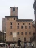 """24 -Mantova. Palazzo del PodestàDetto anche """"Palazzo del Broletto"""", fu costruito nel 1227, committente il bresciano Laudarengo Martinengo nominato podestà di Mantov"""