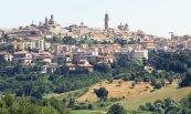 2 -Macerata-Panorama su una delle città più belle delle Marche.