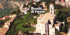 5 -Fermo. Il Duomo. Dal 1227 il Duomo di Fermo domina e sembra proteggere la città e le colline circostanti.