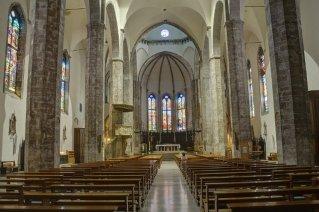 8 -Ascoli Piceno – Piazza del Popolo. Chiesa di San Francesco interno. All'interno dell'ambiente della sagrestia sono custoditi numerosi dipinti, del XVI e del XVIII secolo,