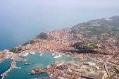 3 -Ancona, panorama sul porto il porto.