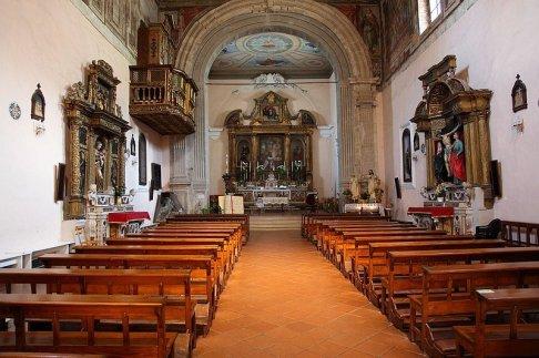 28 -Campobasso. Chiesa di Sant'Antonio Abate interno