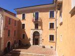 7 -Campobasso, nel centro storico,Salita San Bartolomeo, 18, il Palazzo Pistilli , particolare.