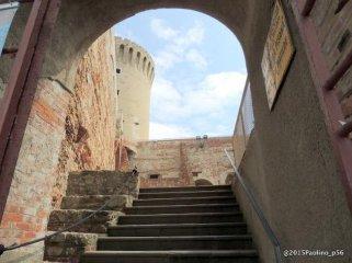 14 -Livorno. Fortezza Vecchia ingresso.