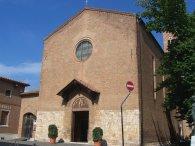 20 -Grosseto, in Piazza San Francesco, la terza chiesa principale della città.