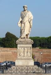 19-Piazza Della Repubblica il-monumento a Leopoldo II.