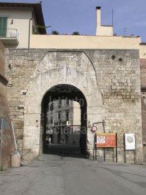 4 -Mura di Grosseto La porta vecchia la più antica risalente al medio evo.