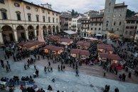 18 -Mercatini di Natale in piazza Grande ad Arezzo