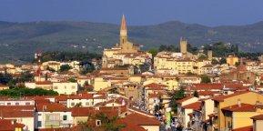 2 -Arezzo. Panorama ravvicinato