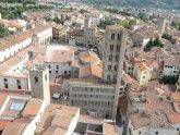 27 -Arezzo. Pieve di Santa Maria in Corso Italia, dall'alto.