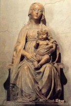 8- Prato, interno Duomo, Benedetto da Maiano, Madonna dell'Olivo (1480)