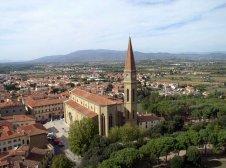 3 -Arezzo, altra panonamica con la cattedrale di San Donato