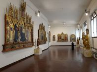 31 -Siena, Pinacoteca Nazionale sala interna.
