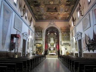 35 -Pisa. Piazza dei Cavalieri. La Chiesa di Santo Stefano, interno.