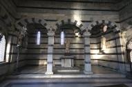 23 -Pisa, la chiesetta di Santa Maria della Spina. interno.