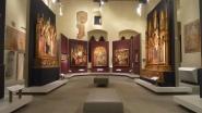 16 -Prato. Museo di Palazzo Pretorio, salone primo piano dal tardogotico al rinascimento.
