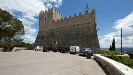 25 -Campobasso. Il Castello Monforte, facciata