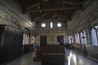 25 - Pisa. la chiesetta di Santa Maria della Spina. interno.